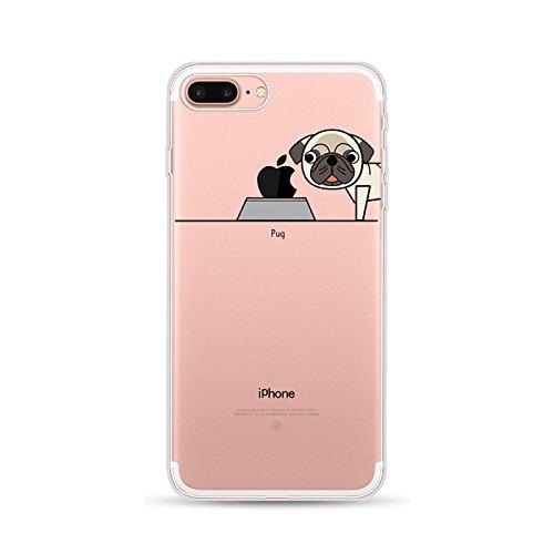 iPhone 7Schutzhülle, anyos Painted Hohe Durchlässigkeit Creative Hollow TPU Soft Case Gummi Silikon Skin Schutzhülle für iPhone 7, 2 (Painted Skin 2)