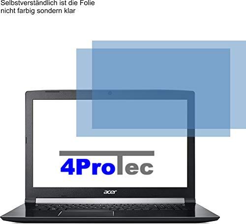2X Crystal Clear klar Schutzfolie für Acer Aspire 7 A717-72G Bildschirmschutzfolie Displayschutzfolie Schutzhülle Bildschirmschutz Bildschirmfolie Folie