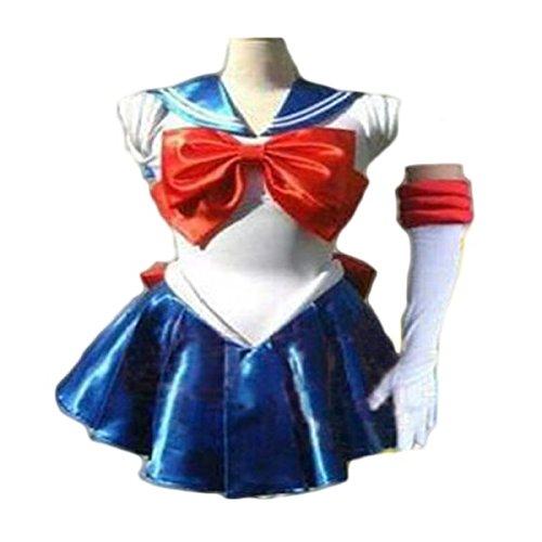 Waooh 69 - Kostüm Sailor Moon Odre - Blau, XXL