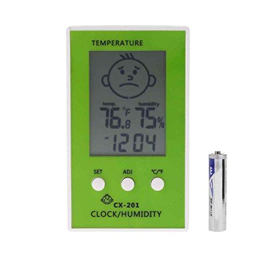 CX-201 LCD digital termómetro higrómetro humedad