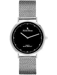 Julian Ross JR100801 Reloj de pulsera, unisex, caja 40mm, Cuarzo analógico, Correa de metal, Marca Italiana