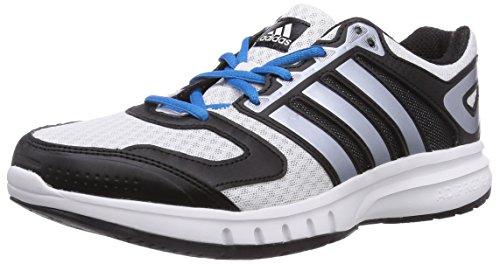 Adidas Galaxy, Running Entrainement Homme Blanc Cassé - blanco - Weiß (Ftwr White/Ftwr White/Core Black)