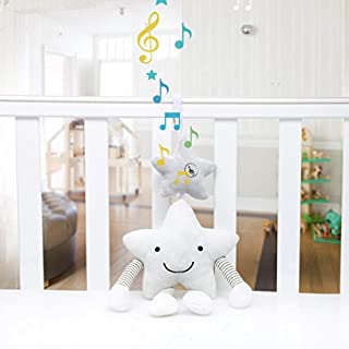 Toy Pram/Cot/Cotbed), Gaddrt Hanging Musical Soft Toys (Rabbit, Star)