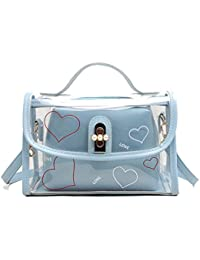 Luckycat Bolsas De Asas Transparentes Del Bolso La Jalea Laser Las Mujeres SeñOra Empaquetan Bolsos Hombro Portables Bolsa…