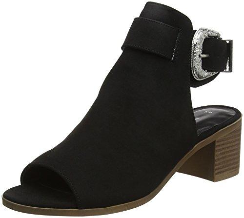 New Look Damen Poser Stiefeletten, Black (Black 1), 40 EU