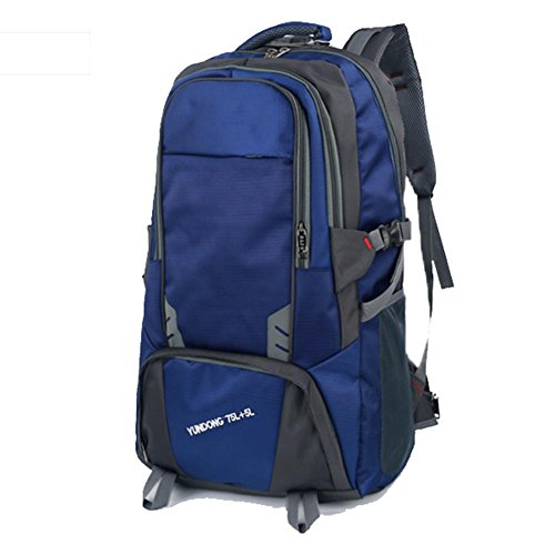 Outdoor zaino sport, grande sacchetto di alpinismo capienza, borsa a tracolla impermeabile, la corsa esterna zaino, viaggi di piacere zaino 80L, sacchetto dell'allievo, borsa del computer, il sacchett Bark Brown