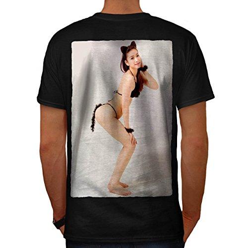 Cosplay Heiß Mädchen Sexy Frau Im Kostüm Herren M T-shirt Zurück | (Gesicht Kostüm Mystique)