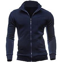 ♚Cardigan Cremallera para Hombre,Otoño Invierno Ocio Deportes Sudaderas Tops Jacket Coat Absolute