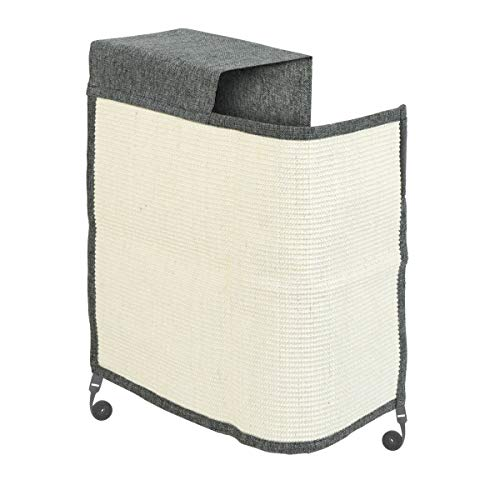 Navaris rascador para Gatos - Protector para Esquina de sofá o sillón - Afilador de uñas de sisal para Mascotas - para el Lado Derecho del Mueble