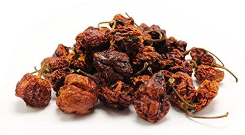 Carolina Reaper - Die Schärfste Chili der Welt - Carolina Reaper Getrocknete Früchte : (2.200.000 Scoville)