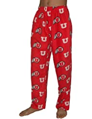 NCAA Utah Utes hommes Fall / Winter Polar Fleece Thermal Sleepwear / Pajama Pantalon
