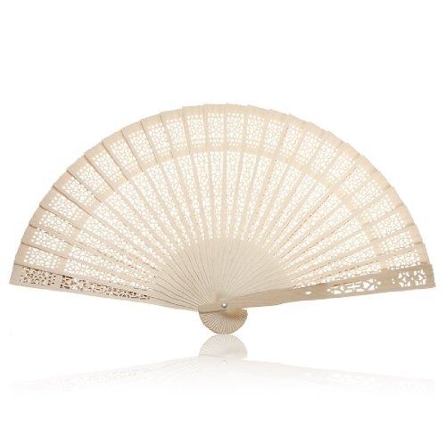 NO1# SLEEP SOLUTIONS TOOGOO(R) SUMMER VINTAGE FOLDING BAMBOO WOODEN CARVED HAND FAN WEDDING BRIDAL PARTY BEST SLEEP & DREAM REVIEWS BUY PRICE UK