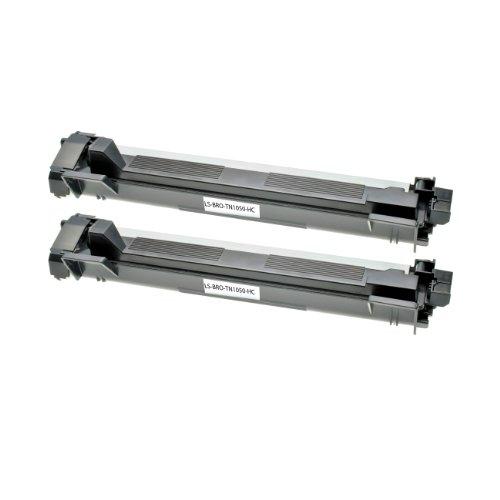 Logic-Seek 2 Toner kompatibel für Brother HL-1110, DCP-1510, DCP-1512, DCP-1601, HL-1112, HL-1201, MFC-1910W, MFC-1911NW, DCP-1610W - Schwarz je 1.500 Seiten