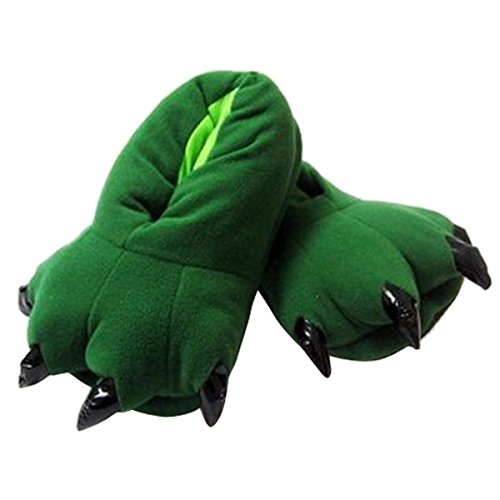 Happy Cherry - Unisex Winter Warm Animal Paw Slippers for Women Men Children Shoes Paw Funny Animal Christmas Monster 7 colors