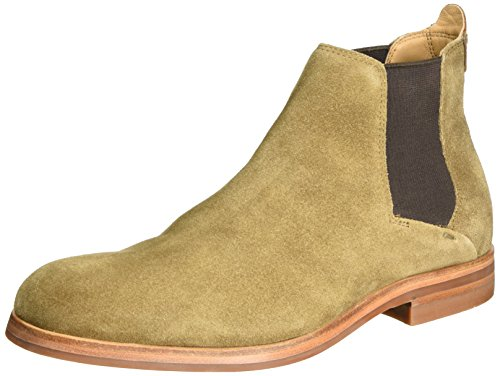H.D. Hudson Mfg Co. Tonti Suede 40, Bottes Chelsea homme Marron (tabac)