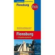 Falk Stadtplan Extra Standardfaltung Flensburg