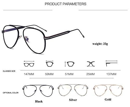 ALWAYSUV - Monture de lunettes - Femme Schwarz