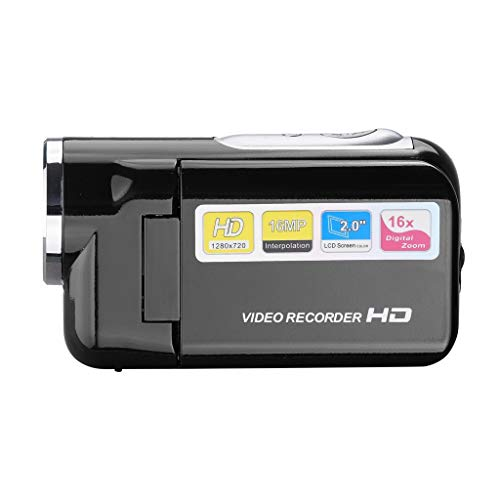 Webla-Video-Camcorder HD 720P-Handheld-Digitalkamera 4-fach digitaler Zoom 2,0 Zoll