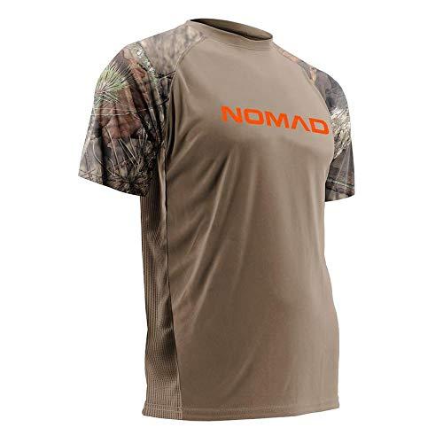 Mossy Oak Camo T-shirt (NOMAD N1200019 Raglan Herren Jagdshirt Camo, Herren, Mossy Oak/Tan, Medium)