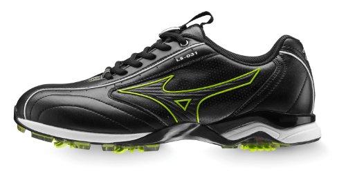 Mizuno Light Style 031 Chaussures de golf pour homme noir Noir Size 7