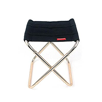 Camping Stool Lightweight,Ultra-Light Aluminum Alloy Portable Folding Chair, Outdoor Beach Hiking Fishing Travel Backpacking Garden BBQ Seat from Aolvo