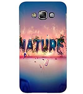 SAMSUNG GALAXY GRAND MAX NATURE Back Cover by PRINTSWAG