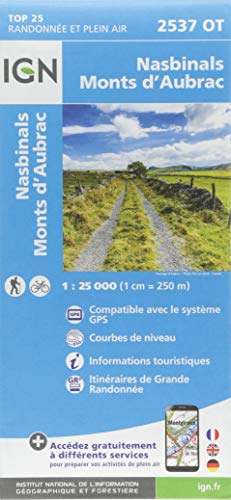 2537OT NASBINALS MONTS D'AUBRAC par COLLECTIF