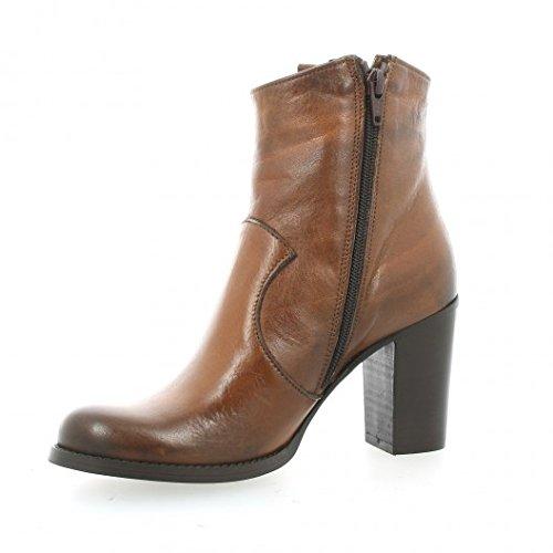 Pao Boots cuir cognac Cognac