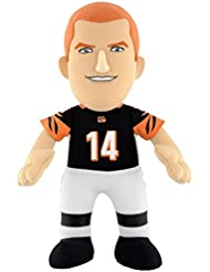 "NFL Cincinnati Bengals Andy Dalton Plush Figure, 10"", Orange"