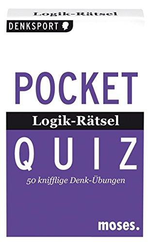 Pocket Quiz Logik-Rätsel: 50 knifflige Denk-Übungen