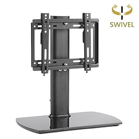 RFIVER Swivel Universal TV Stand für 20 bis 37 Zoll Flachbildfernseher, UT2003