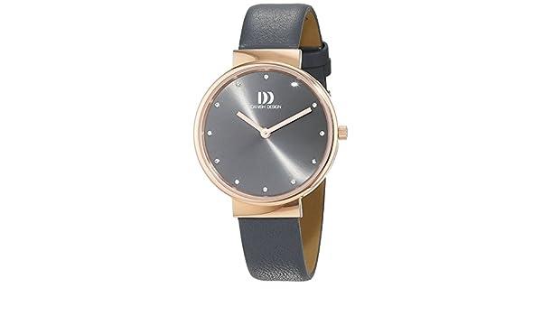 Design Damen Analog Quarz Armbanduhr Danish 3320197 Leder vm80nywPON