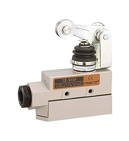 Woljay Heavy Duty Tür Micro Endschalter Roller Plunger SPDT TZ-6104 CE für Schiebetüren / Fenster
