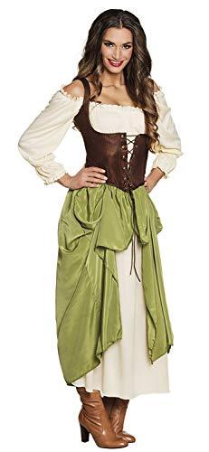 Boland Erwachsenenkostüm Mittelalterliche Wirtin (Mittelalter Kostüm)