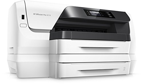 HP Officejet Pro 8218 Tintenstahldrucker (Drucker, HP Instant Ink, Duplex, WLAN, LAN, 500 Blatt Papierfach, HP ePrint, Apple Airprint, USB, 2400 x 1200 dpi) weiß - 3