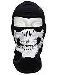 GEAR© - Cagoule Ghost - Tete de mort - Style Call of Duty Modern Warfare Cod Mw3 Black Ops Battlefield Xbox 360 - Ps3 - Airsoft - Paintball - Moto - Ski - Snow - Surf - Outdoor