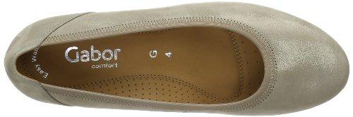 Gabor Shoes Gabor Comfort 82.690.11, Ballerine Donna Grigio (Grau (koala))