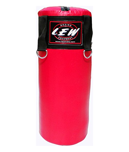 LEW Red boxing bag filled (29 Inches)  available at amazon for Rs.899