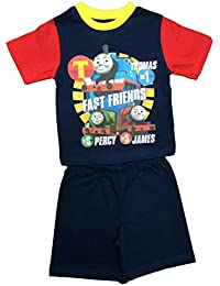 Boys Thomas Tank and Friends Short Pyjamas Size 12 Months to 4 Years