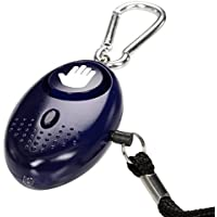 tiiwee Alarme Personnelle D'urgence avec Torche - Deep Purple - 130dB - Anti Agression