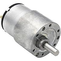 Sharplace 37 Gb-520 6/12/24 V DC High Torque Getriebe Mikro Drehzahl Reduzierung Motor - 6V 142rpm