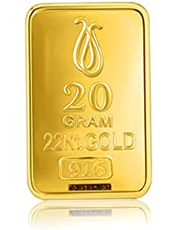 Senco Gold 22k (916) Yellow Gold Bar