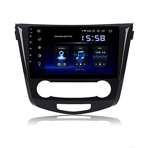 "Dasaita 10.2\"" Android 9.0 Single Din unidad de cabeza estéreo para coche con 4G RAM 64G ROM para Nissan X-Trail Qashqai 2014 2015 2016 2017 2018 Radio Bluetooth Soporte GPS USB Carplay Volante Control"