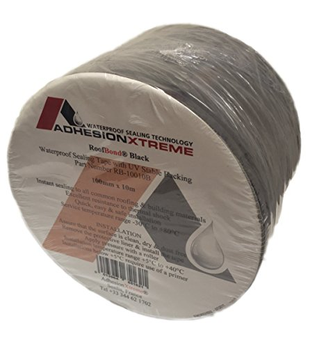 AX©*PREMIUM*10m*50mm Klebeband Dichtung Teichfolienklebeband Reparaturband GRAU Wasserdicht, selbstklebend (grau)