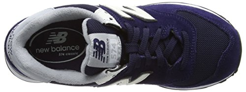 New Balance Herren Ml_wl574v1 Low-Top Blau (Blue/White)