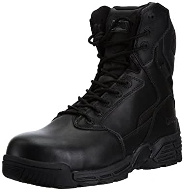 Magnum Unisex Adults' Stealth Force 8.0 Leather Boots - Black, 4 UK