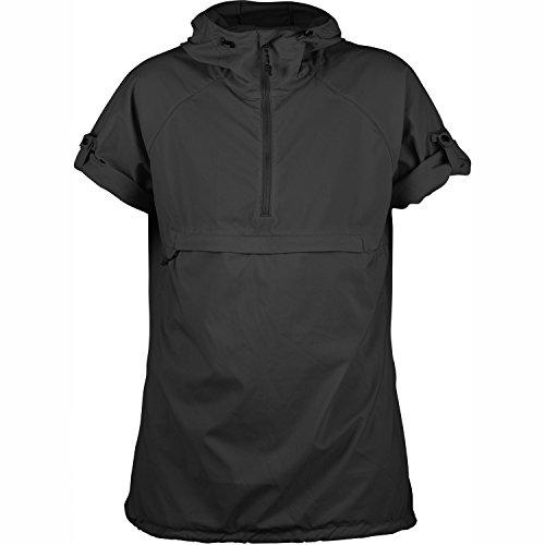Fjällräven Damen High Coast Hooded Shirt Ss W Blusen & T-Shirts Dark Grey