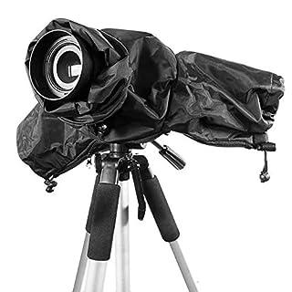 Kamera Regenschutzhülle, Ailiebhaus Wasserdicht Regenschutzhaube Kamera Rain Cover Schutz für Canon Nikon und andere große Digitale Spiegelreflexkameras