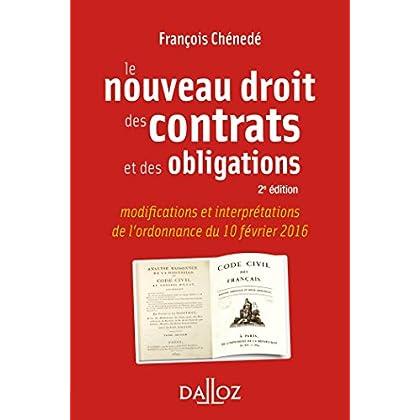 Le nouveau droit des contrats et des obligations - 2e éd.