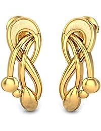 500029bd2 Candere By Kalyan Jewellers 22k (916) Yellow Gold Danusiya Stud Earrings